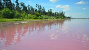 Ciemnopąsowy jezioro Zdjęcia Stock
