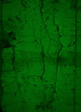 Ciemnozielony Krakingowy farby tło Fotografia Stock