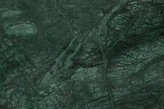 Ciemnozielony marmur Zamknięty w górę żył z obrazy stock