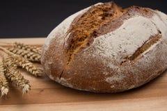 Ciemny żyto chleb fotografia stock