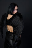 Ciemny anioł Fotografia Royalty Free