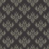ciemny bezszwowy struktury stylu wiktoriański Zdjęcia Royalty Free