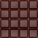 Ciemny czekoladowy czysty Obrazy Royalty Free