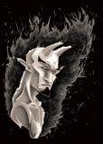 ciemny demon Obrazy Stock