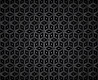 Ciemny diamentowy kształt mozaiki wzór Obraz Royalty Free
