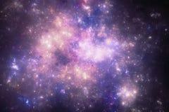 Ciemny głębokiej przestrzeni starfield Obrazy Stock
