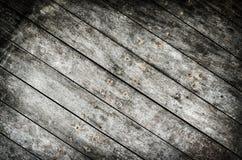 Ciemny grungy drewniany tło Zdjęcia Royalty Free