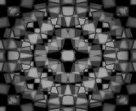 Ciemny kalejdoskopu wzór Obrazy Stock
