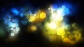 Ciemny kolorowy abstrakcjonistyczny tło z bokeh Obraz Stock