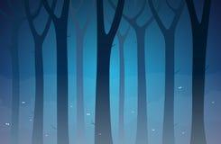 ciemny las ilustracji