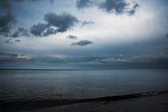 ciemny morza Obraz Stock