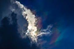 Ciemny niebo Fotografia Royalty Free