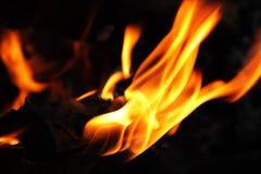 ciemny płomień obrazy stock