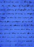 CIEMNY pisma PROCHOWEGO błękita tło Zdjęcia Royalty Free