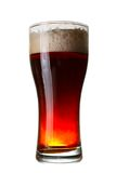 Ciemny piwo szkło Fotografia Stock
