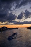 ciemny statek Fotografia Royalty Free
