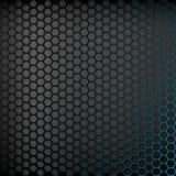 Ciemny tło z błękitnym backlight Obrazy Stock