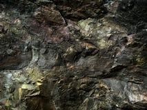 Ciemny tekstury Ural kamień Fotografia Royalty Free