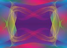 Ciemny widma tło w głębokim - purpury dominują colour royalty ilustracja