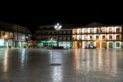 Ciempozuelos nachts spanien Lizenzfreie Stockbilder