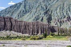 Cienaga, Quebrada de Humahuaca, Jujuy, Argentina. Stock Image