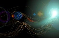Ciencia abstracta Imagen de archivo