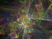 Ciencia brillante etérea del efecto superficial de la facilidad del fondo futuro digital abstracto de la ilusión libre illustration