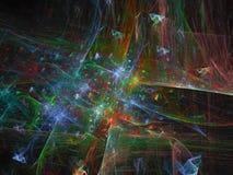Ciencia brillante etérea del estilo de la facilidad del fondo superficial futuro digital abstracto de la ilusión ilustración del vector