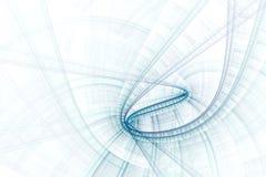 Ciencia del asunto o fondo abstracta de la tecnología Fotografía de archivo