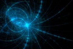 Ciencia del asunto o fondo abstracta de la tecnología