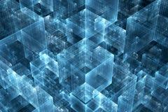 Ciencia del negocio o fondo abstracta de la tecnología Imagen de archivo libre de regalías