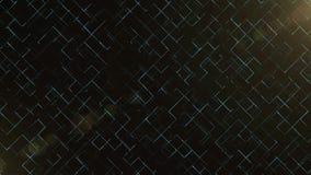 Ciencia del negocio o fondo abstracta de la tecnología con el espacio vacío para el texto Copie el espacio Cierre para arriba El  ilustración del vector