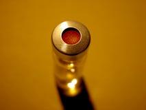 Ciencia - frasco con el casquillo rojo Imagen de archivo libre de regalías