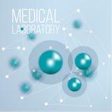 Ciencia infographic del diseño de la bioquímica libre illustration