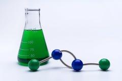 Ciencia molecular Imágenes de archivo libres de regalías
