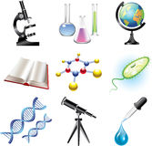 Ciencia y sistema ?hemistry stock de ilustración