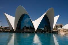 Ciencias Ciudad de Las Artes y, Valencia Lizenzfreies Stockfoto