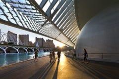 Ciencias di las di Ciudad de las artes y. La Valencia-Spagna Fotografia Stock