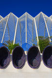 Ciencias dos las de Ciudad de las artes y foto de stock