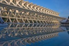 Ciencias dos las de Ciudad de las artes y. Valença-Spain Imagens de Stock Royalty Free