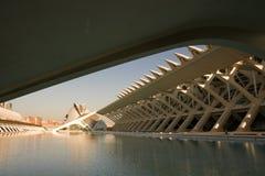 Ciencies de Ciutat de les en Valencia, España foto de archivo