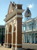 cienfuegos城市 免版税库存图片