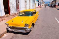 CIENFUEGOS, ΚΟΥΒΑ - 12 ΣΕΠΤΕΜΒΡΊΟΥ 2015: Κλασικός Στοκ Εικόνες