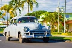 CIENFUEGOS, ΚΟΥΒΑ - 12 ΣΕΠΤΕΜΒΡΊΟΥ 2015: Κλασικός Στοκ φωτογραφίες με δικαίωμα ελεύθερης χρήσης