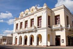 Cienfuegos, Куба: Театр Tomas Терри стоковые изображения rf