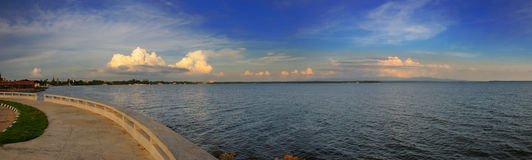 Cienfuegos bay panorama, cuba Royalty Free Stock Photos