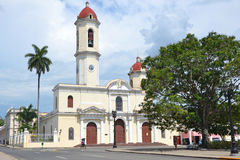 Cienfuegos cathedral Royalty Free Stock Image
