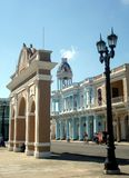 Cienfuegos Center Royalty Free Stock Photography