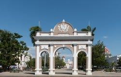 Parque Jose Marti, Cienfuegos, Cuba stock photo