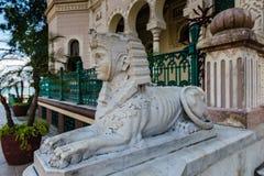 Sphinx Statue - Palacio de Valle royalty free stock images